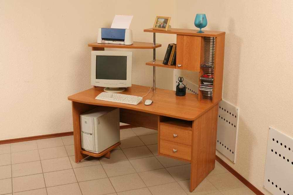 Фортуна 18.1 - компьютерные столы (витра) - просмотр товаров.